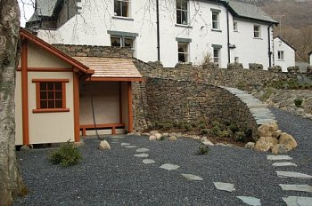 A Japanese garden in a Borrowdale setting