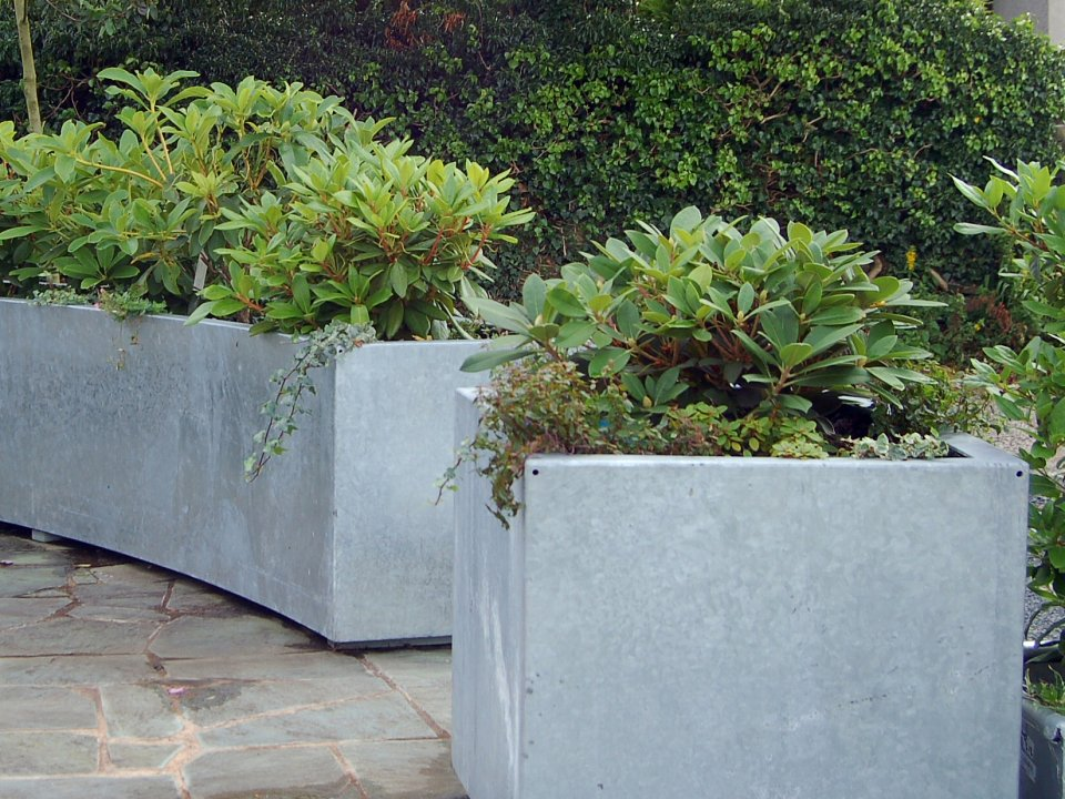 kendal galvanised - Garden Design Kendal